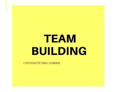 Le Team building qui fait la différence